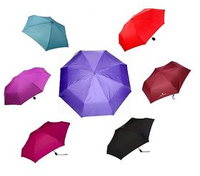 2 Fold Umbrella (Assorted Color)