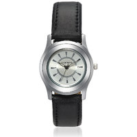 Invaders Round Dial White Analog Watch-INV-CRPL-WHT