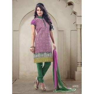 Cotton Embroidery Salwar Kameez Suits