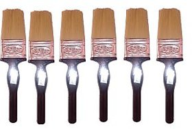Sagar 38MM Paint Brush With handle(Pack Of 6)