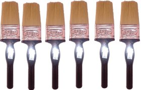 Sagar 50MM Paint Brush With handle(Pack Of 6)