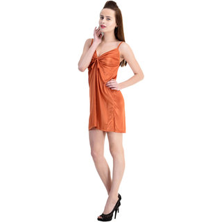 Claura Women's Satin Stylish Nighty