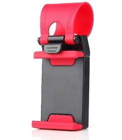 DOMO nMount C1 Universal Car Steering Wheel Mount Mobile Phone Socket Holder All Smatphones upto 5.5 inches