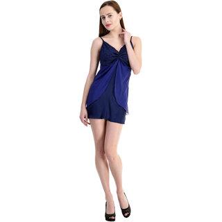 Claura Women's Satin Stylish Nighty