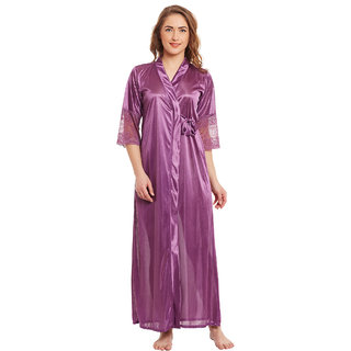 CLAURA Satin With Robe