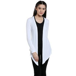 Bombay High White  Cotton Shrugs