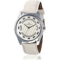 Invaders Round Dial Multi Analog Watch-INV-CORP-WHT-101
