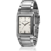 Invaders Rectangle Dial White Analog Watch-INV-TCHR-SCW