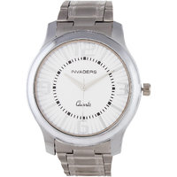 Invaders Round Dial White Analog Watch-INV-ASPS-SCWHT-6