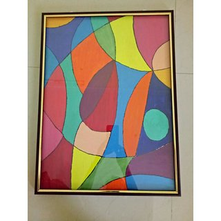 Jraah paintings with frame for living room Paintings Set (24x18 inches)