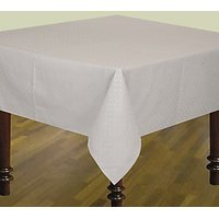 Airwill Printed 6 Seater Table Cloths In Gray With Green Tone