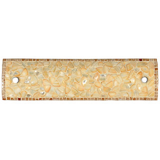 Fos Lighting Natural Mother of Pearl Vanity Light