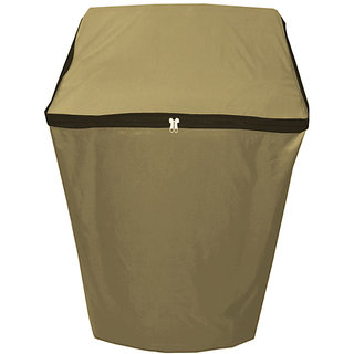 Dreamcare Waterproof & Dustproof Beige coloured Washing Machine Cover for Samsung Fully Automatic Washing Machine WA60H4300HB 6kg