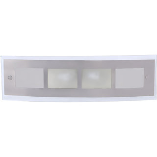 Fos Lighting Contemporary Steel Vanity Mirror Light
