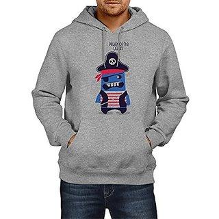 Fanideaz Mens Fullsleeve Cotton Pirates Of The Ocean Premium Hoodies Sweatshirt Pullover Jacket