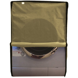 Dreamcare dustproof and waterproof washing machine cover for front load 7KG_Samsung_WF600UOBHWQ_Beige