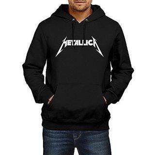 Fanideaz Mens Fullsleeve Cotton Metallica Music Band Premium Hoodies Sweatshirt Pullover Jacket