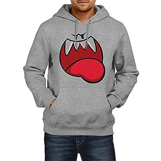 Fanideaz Mens Fullsleeve Cotton Evil Smiley Premium Hoodies Sweatshirt Pullover Jacket