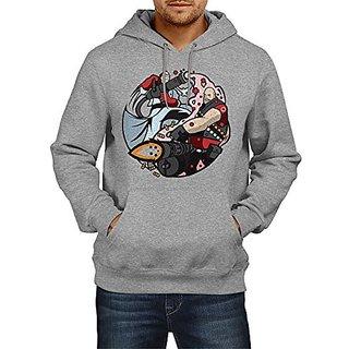 Fanideaz Cotton Red Team Fortress Hoodies For Men Premium Sweatshirt