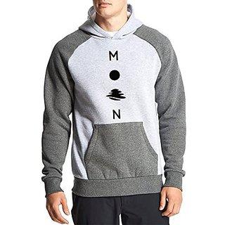 Fanideaz Cotton Full Sleeves Shaky Moon Hoodies For Men Premium Sweatshirt
