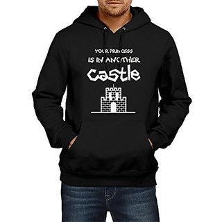 Fanideaz Mens Fullsleeve Cotton Mario Princess Premium Hoodies Sweatshirt Pullover Jacket