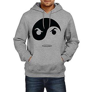 Fanideaz Cotton Angry Ying Yang Hoodies For Men Premium Sweatshirt