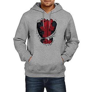 Fanideaz Cotton Amazing Dead Pool Hoodies For Men Premium Sweatshirt