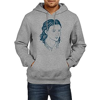 Fanideaz Cotton Sansa Stark Handrawn Art Game Of Thrones Hoodies For Men Premium Sweatshirt