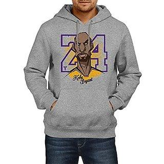 Fanideaz Mens Fullsleeve Cotton Kobe Bryant Basketball Premium Hoodies Sweatshirt Pullover Jacket