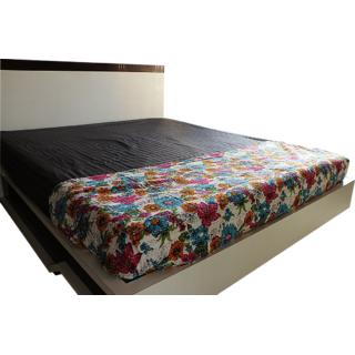 Floral Handmade Multicolor Decorative Bed Sheet