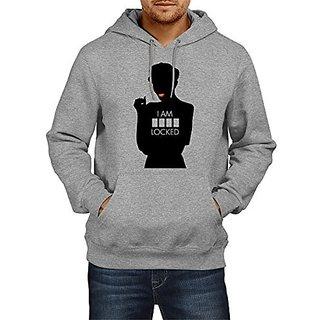 Fanideaz Mens Fullsleeve Cotton SherLocked Sherlock Premium Hoodies Sweatshirt Pullover Jacket
