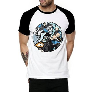 Fanideaz Men's Multicolor Round Neck T-shirt