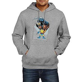 Fanideaz Cotton Wolverine X-Men Paper Art Hoodies For Men Premium Sweatshirt