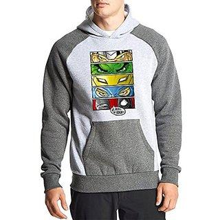 Fanideaz Cotton Full Sleeves Superheros Eyes Hoodies For Men Premium Sweatshirt