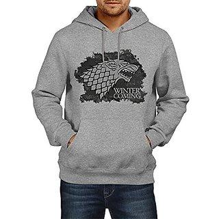 Fanideaz Cotton Broken Flag Winter Is Coming Hoodies For Men Premium Sweatshirt