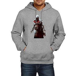 Fanideaz Cotton Ezio Hand Blade Assassins Creed Hoodies For Men Premium Sweatshirt