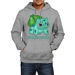 Fanideaz Cotton Shiny Bulbasaur Pokemon Hoodies For Men Premium Sweatshirt