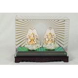BLISS 24 Karat Gold Leaf Idols (Lakshmi & Ganesha)