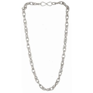 Men Style Mens Fashion 6mm Thick and 440 Long Silver Stainless Steel Link Chain For Men And Women