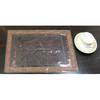 Table Placemats Leaf Design (set of 6)