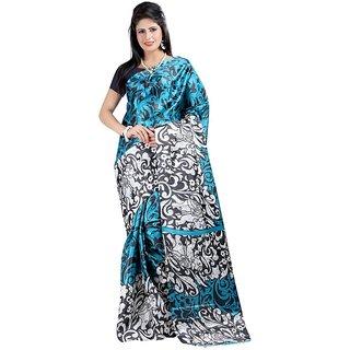 Kajal Sarees Self Desineart Silk Sarees