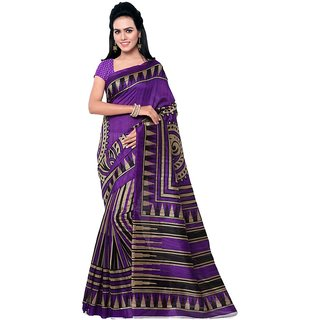 Kajal Sarees Multicoloured Art Silk Saree