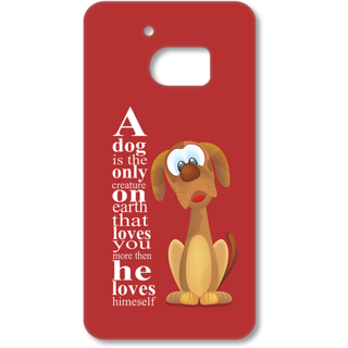 Htc 10 Designer Hard-Plastic Phone Cover From Print Opera - Dog Related Thought