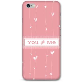 IPhone 6-6s Plus Designer Hard-Plastic Phone Cover From Print Opera -You & Me
