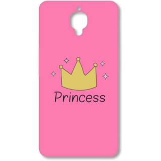 One Plus Three Designer Hard-Plastic Phone Cover From Print Opera - Princess