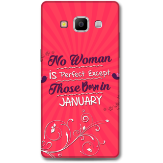 Samsung Galaxy A7 2015 Designer Hard-Plastic Phone Cover From Print Opera -January Born