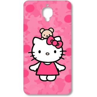 One Plus Three Designer Hard-Plastic Phone Cover From Print Opera - Cute Cat