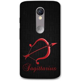 Moto X Force Designer Hard-Plastic Phone Cover From Print Opera -Sagittarius