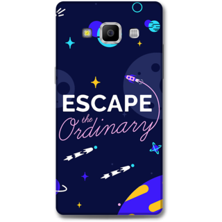 Samsung Galaxy A7 2015 Designer Hard-Plastic Phone Cover From Print Opera -Typography