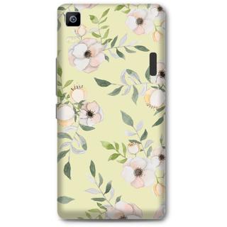 LenovoA7000 Designer Hard-Plastic Phone Cover From Print Opera - Floral